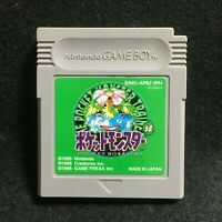 Pokemon Green Venusaur (Nintendo Game Boy, 1996)Japan Pocket Monsters Japanese