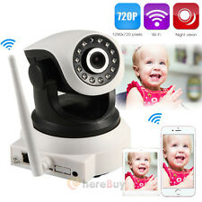 Wireless 720P Pan Tilt Network Security CCTV IP Camera Night Vision WiFi Webcam