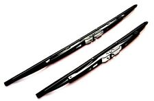 Front Wiper Blade Set - High Quality Windscreen Wiper Blades  (WB22/22)a