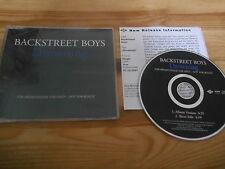 CD Pop Backstreet Boys - Drowning (2 Song) Promo JIVE REC sc +Presskit