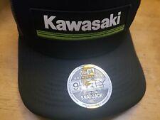 Kawasaki New Era 9Fifty Kawasaki 3 Green Lines Cap - One Size