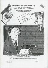 EO CATALOGUE 1995 SIGNÉ + CACHET LÉO MALET + ANDRÉ HÉLÉNA + G.J. ARNAUD + POLAR