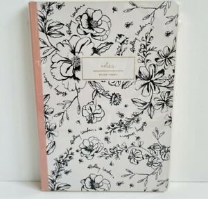 Radley Sketchy Hard Cover Floral Notebook A5 Size Lined Pages Radley Flowers