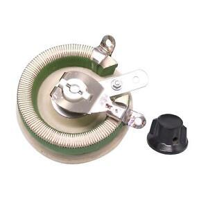 100W 20 OHM High Power Wirewound Potentiometer, Rheostat, Variable Resistor