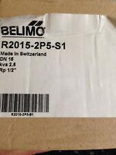 Belimo R2015-2P5-S1, 2-Way Control Válvula de bola. Nueva.