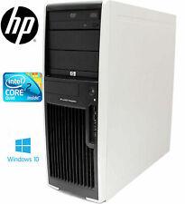 COMPUTER PC FISSO HP XW 4600 WORKSTATION INTEL CORE 2 QUAD 4 GB RAM 250 HDD