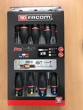 FACOM APRIL SALE SLOTTED PHILLIPS MIXED PROTWIST SCREWDRIVER SET 10 PIECE SET