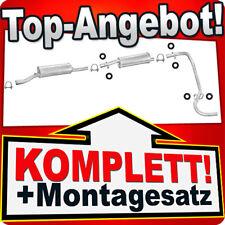 Auspuff CITROEN C25 1.9 2.4 2.5 D Diesel Abgasanlage 101C