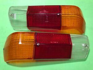 Audi F103 60 72 75 80 Super 90 Tail light Lenses Rücklicht Hella Genuine NOS