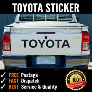 TOYOTA #1 tailgate sticker suite HILUX SR5 Duble Single Cab Hi rider 4x4