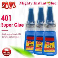 New Loctite 401 Instant Adhesive Stronger Super Glue Multi-Purpose 20g/Bottle H7