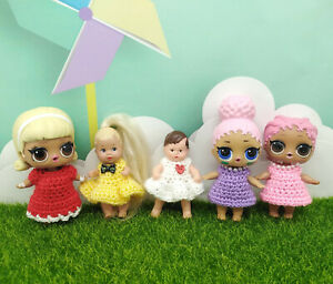 Set of clothes 5 pieces for LOL dolls. LOL dress