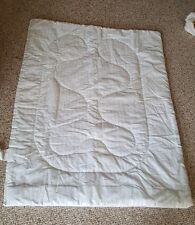 Vintage CuddleTime Plaid padded Baby Comforter - 42 x 33