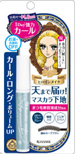 kiss me Heroine Make Curl Keep Mascara Base long Lengthening blue gray Japan