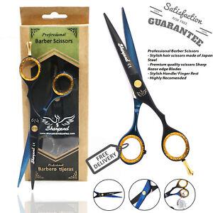 "Professional JAPANSE Steel Barber Hair Cutting Scissors Shears Size 6"" NEW"