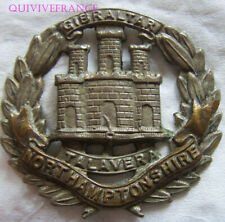 IN12858 - Northamptonshire Regiment CAP BADGE GB WWI