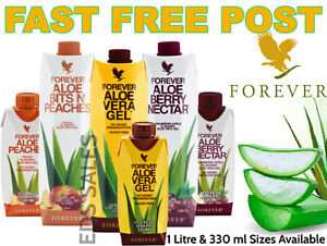 FOREVER LIVING ALOE VERA GEL DRINK - CHOOSE YOUR FLAVOUR - Expiry Date 2023