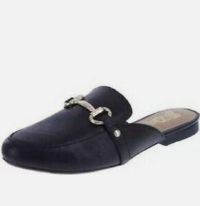 Brash Summer slippers half shoe flat bottom sandals slippers New w box Silver9.5