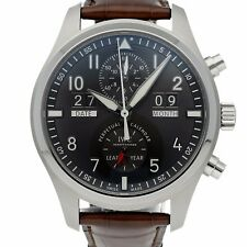 IWC Spitfire Chrono Perpetual Digital Date-Month Steel Watch Automatic IW3791-07