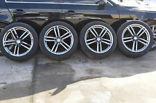 "06-09 INFINITI M35 M45 19"" DOUBLE SPOKE RIMS WHEELS & TIRES 245/45/19 SET OF 4"