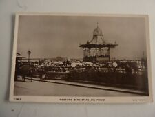 Worthing Bandstand & Parade Sussex Postcard