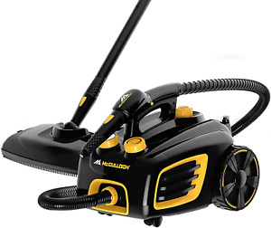 McCulloch MC1375 Canister Steam Cleaner with 20 Accessories, Extra-Long Power