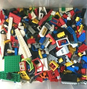 500g quality sorted lego good mix of parts & size of piece transport space city