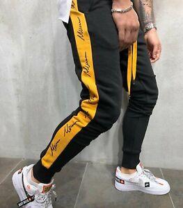 Mens Casual Sweatpants Jogging Bottoms Tracksuit Trouser Joggers SP01/SP02