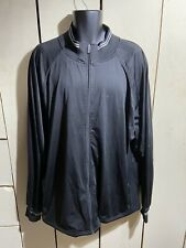 Vintage Russell Athletic Mens Black Zip Up Jacket Size XXL
