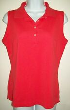 nike golf womens active top size s 4 6 pink dri-fit sleeveless athletic apparel