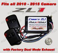 2010 - 2015 Camaro ZL1 Mild 2 Wild Dual Mode NPP Exhaust Control - FREE Shipping