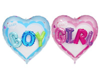 Baby Heart Balloon - Boy Girl - Baby Shower / New Arrival