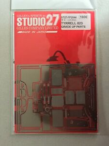 Studio 27 Grade up Parts pour Tyrrell 023 Tamiya 1/20