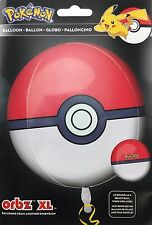 "Pokemon Pokeball Birthday Party Supply 15 in"" ORBZ Balloon Party Supply"