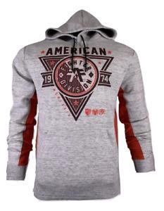 AMERICAN FIGHTER Men's HOODIE SIENA HEIGHTS L/S PANEL Premium MMA