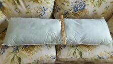 New without tag 36 X 10  Body Pillow Insert / Form with zipper case, non smoking