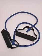 Exercise Medium 18lb Blue Resistance Band Strength Yoga Training Fitness #1V1