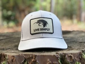 """Patagonia Roger That Hat  """"Live Simply Fly"""" Feather Grey FA15'"""