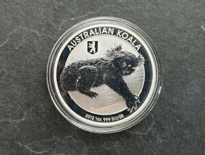 Koala Privy Berliner Bär 1 Dollar Australien 2012 1 Oz Silber ST