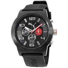 Puma Definition Black Dial Silicone Strap Men's Watch PU104221001