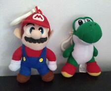 Nintendo Mario Yoshi Plush Stuffed Toy Clip On Toysite Great Condition Rare
