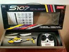 Syma Gyroscopes System S 107 Metal Series 3-Channel Infrared RC Helicopter