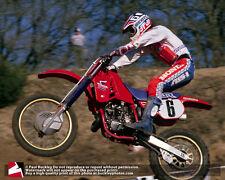 16x20 photo, Team Honda's David Bailey at the 86 Gainesville Motocross National
