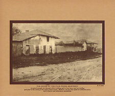 1910's Vintage House Of Four Winds Monterey California E. N. Sewell Photo Print