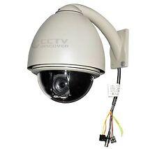 40% OFF! CCTV Auto-Tracking 560/680TVL 432x Zoom PTZ Dome Camera Outdoor NTSC