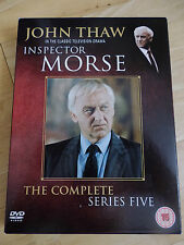 INSPECTOR MORSE - COMPLETE SERIES 5 (Five) - JOHN THAW - BRAND NEW