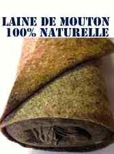 3 métres Ouate laine de mouton. isolation thermique et phonique 100% NATURELLE