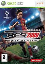 Pro Evolution Soccer 2009 (Microsoft Xbox 360, 2008)