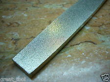 "10"" Inch Long THK Diamond Tipped Coated Flat File Files Grit 120 Medium"