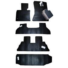 Models L1BM05132209 E70 Classic Carpet Black 3D MAXpider Third Row Custom Fit All-Weather Floor Mat for Select BMW X5
